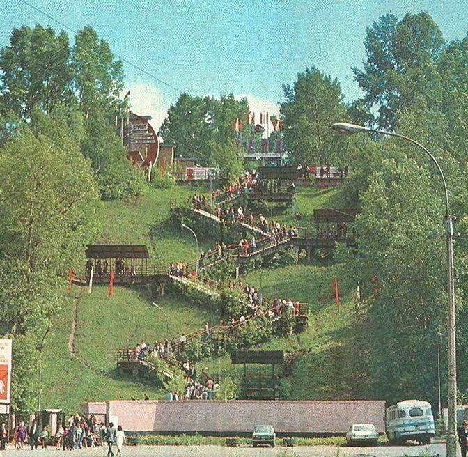 нагорный парк в барнауле фото