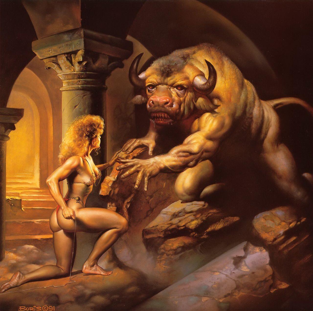 Minotaur x sex smut tube